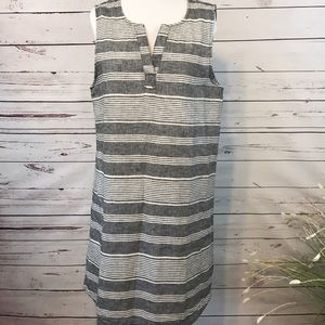 beachlunchlounge | Linen & Cotton | Tunic Dress| M